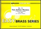 TWO ACTION THEMES (Easy Brass Band)