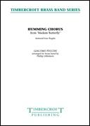 HUMMING CHORUS (from Madam Butterfly) (Flugel Quartet with Brass Band)