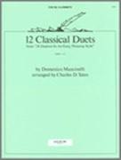 12 CLASSICAL DUETS (Clarinet Duet)