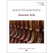 Autumn Aria (String Orchestra - Score and Parts)