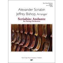 Scriabin: Andante For String (String Orchestra - Score and Parts)