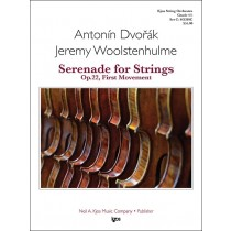 Serenade For Strings, Op.22 -1st Mov: Moderato (String Orchestra - Score and Parts)