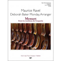 Menuet From Le Tombeau De Couperin (String Orchestra - Score and Parts)