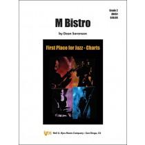 M Bistro (Jazz Ensemble - Score and Parts)