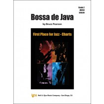 Bossa De Java (Jazz Ensemble - Score and Parts)