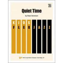 Quiet Time (Jazz Ensemble - Score and Parts)