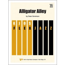 Alligator Alley (Jazz Ensemble - Score and Parts)