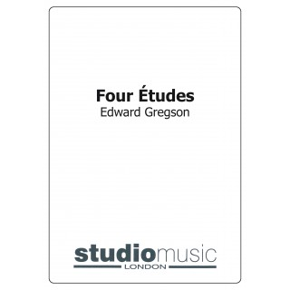 Four Etudes (Brass Band - Score only)