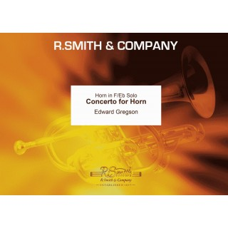 HORN CONCERTO (Gregson) (Horn Solo with Brass Band)