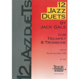 12 JAZZ DUETS (Trumpet & Trombone)