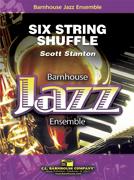 Six String Shuffle (Jazz Ensemble - Score and Parts