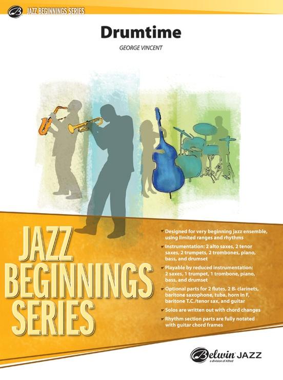 Drumtime (Jazz Ensemble - Score and Parts)