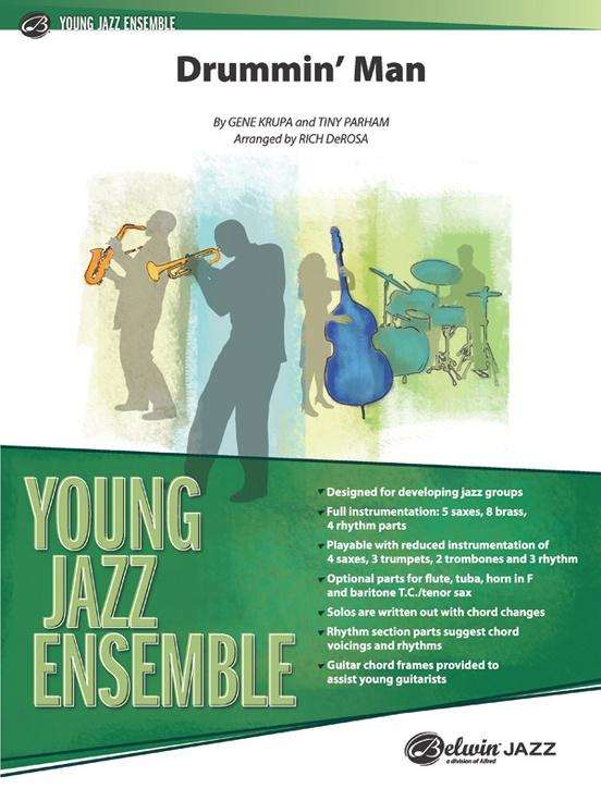 Drummin' Man (Jazz Ensemble - Score and Parts)