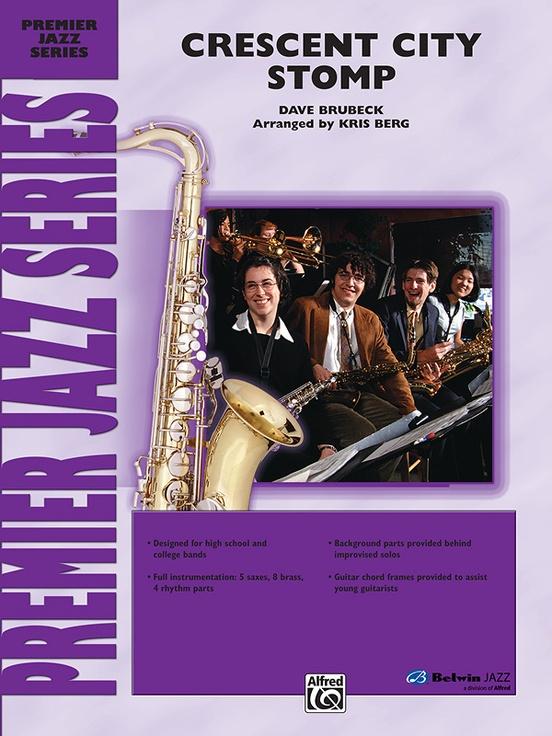 Crescent City Stomp (Jazz Ensemble - Score and Parts)