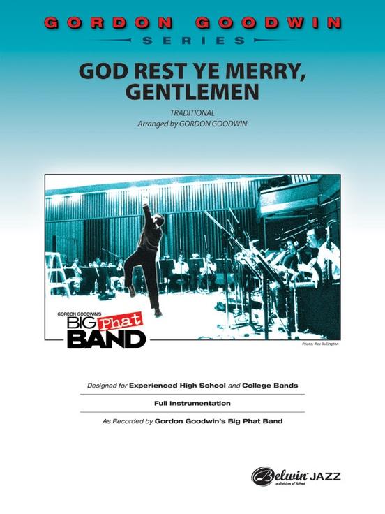 God Rest Ye Merry, Gentlemen (Jazz Ensemble - Score and Parts)