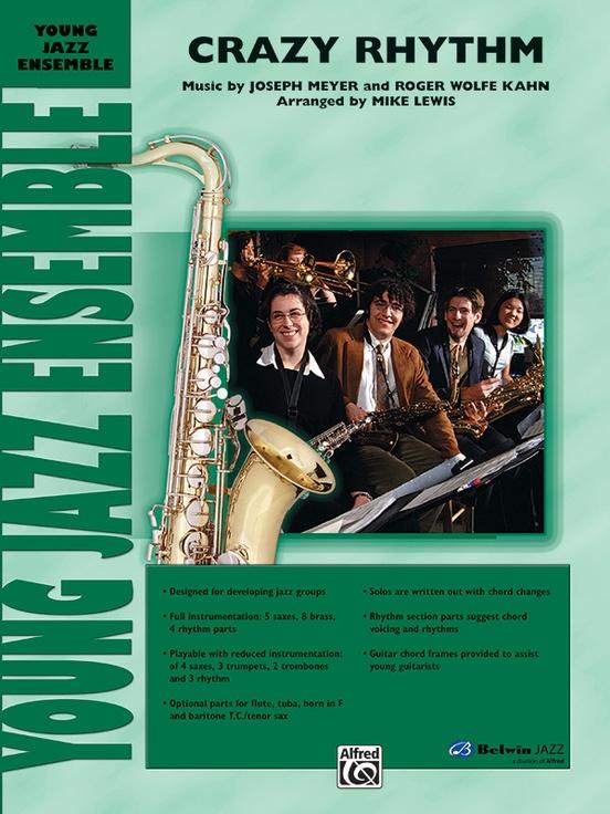 Crazy Rhythm (Jazz Ensemble - Score and Parts)