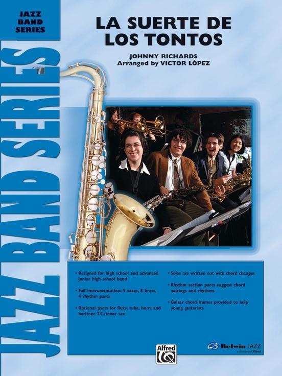 La Suerte de los Tontos (Jazz Ensemble - Score and Parts)