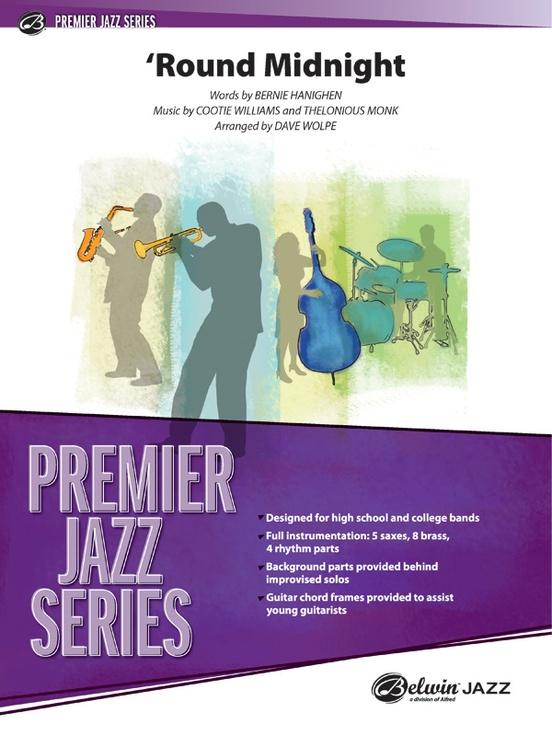 'Round Midnight (Jazz Ensemble - Score and Parts)