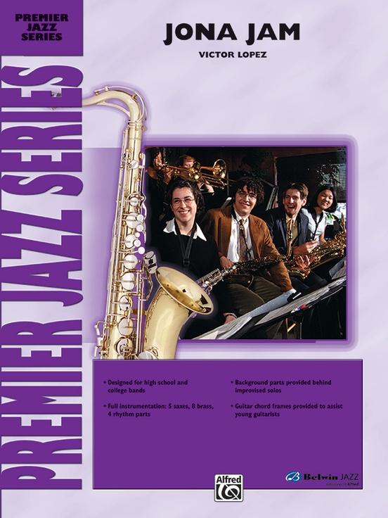 Jona Jam (Jazz Ensemble - Score and Parts)