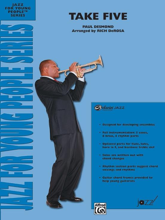Take Five (Jazz Ensemble - Score and Parts)