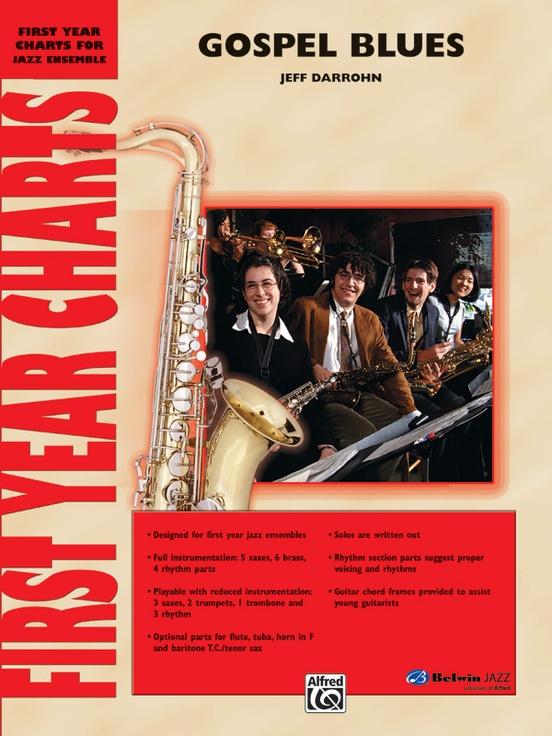 Gospel Blues (Jazz Ensemble - Score and Parts)