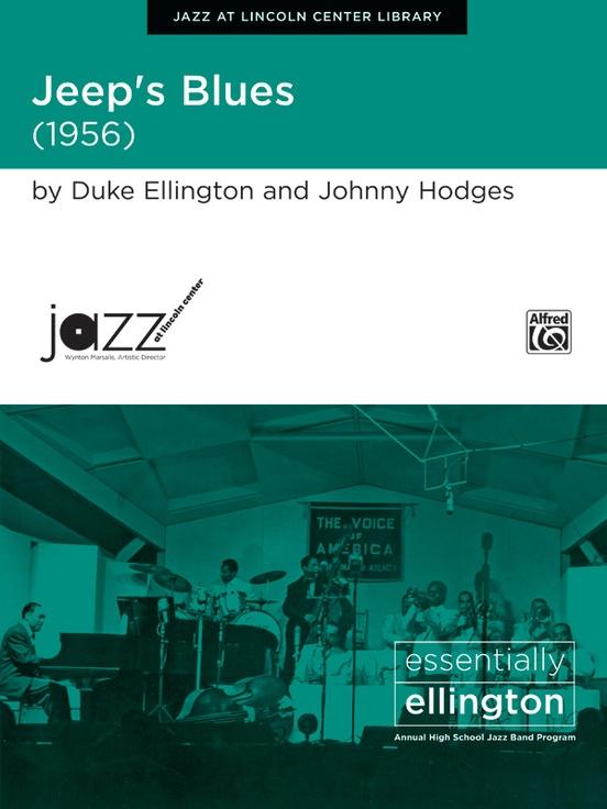 Jeep's Blues (Jazz Ensemble - Score and Parts)