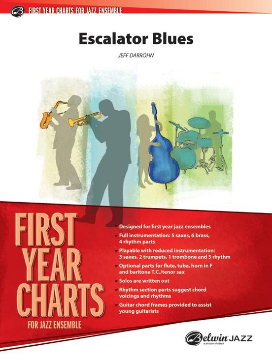 Escalator Blues (Jazz Ensemble - Score and Parts)