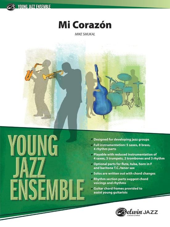 Mi Corazon (Jazz Ensemble - Score and Parts)