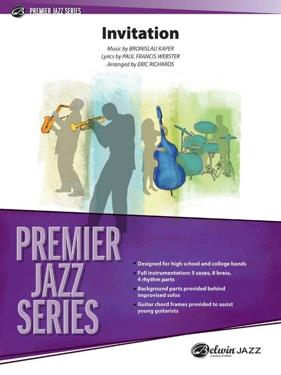 Invitation (Jazz Ensemble - Score and Parts)