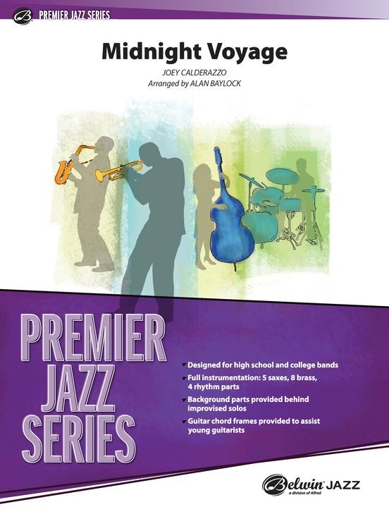Midnight Voyage (Jazz Ensemble - Score and Parts)