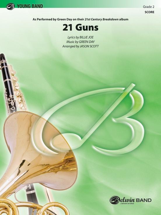 21 Guns (Concert Band - Score and Parts)