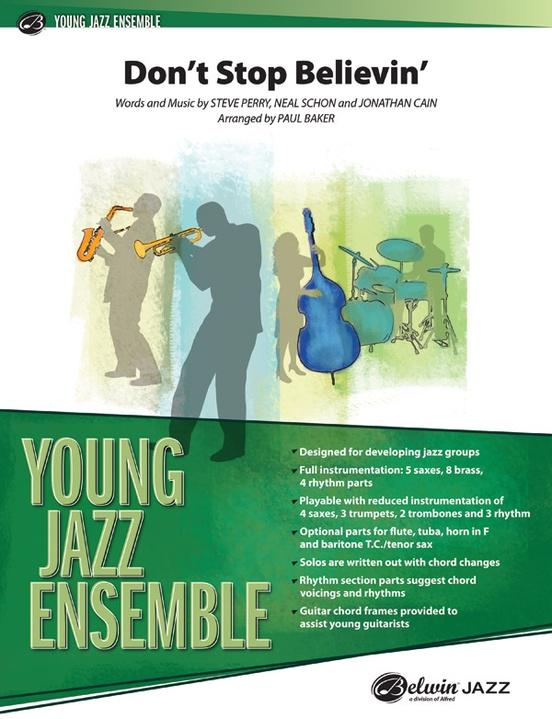 Don't Stop Believin' (Jazz Ensemble - Score and Parts)