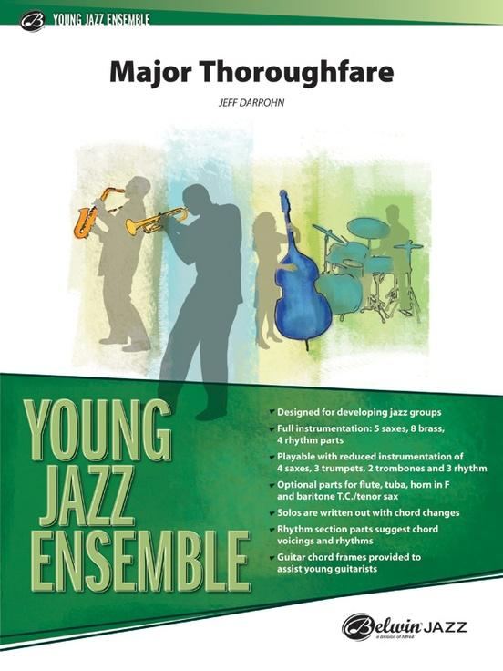 Major Thoroughfare (Jazz Ensemble - Score and Parts)