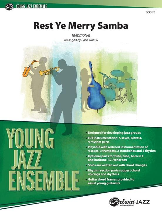 Rest Ye Merry Samba (Jazz Ensemble - Score and Parts)