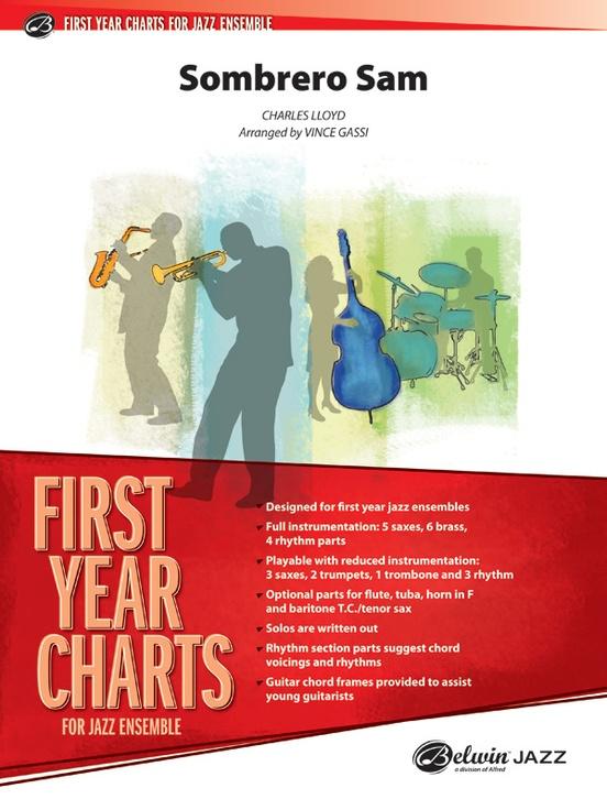 Sombrero Sam (Jazz Ensemble - Score and Parts)