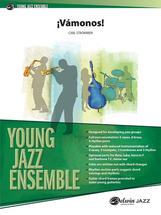 ¡Vamonos! (Jazz Ensemble - Score and Parts)
