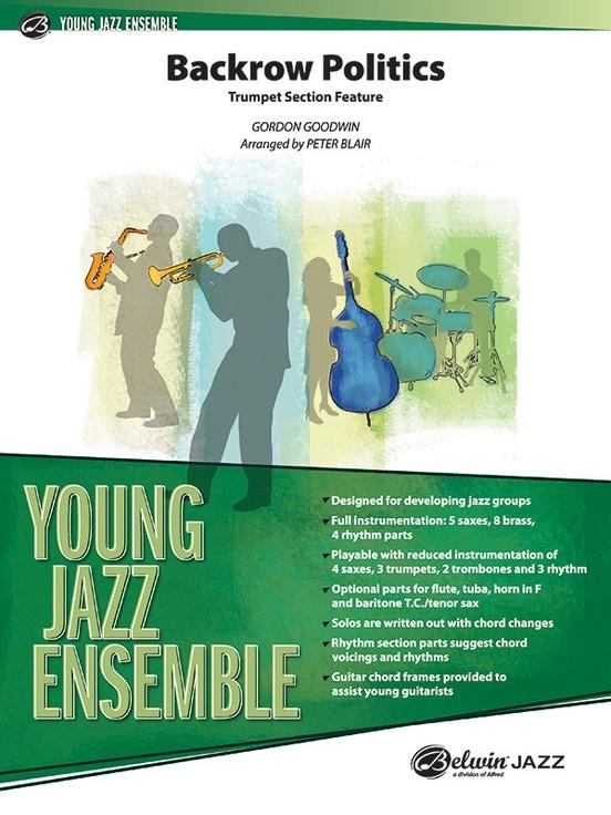 Backrow Politics (Jazz Ensemble - Score and Parts)