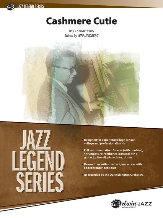 Cashmere Cutie (Jazz Ensemble - Score and Parts)