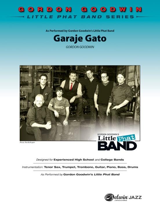 Garaja Gato (Jazz Combo - Score and Parts)