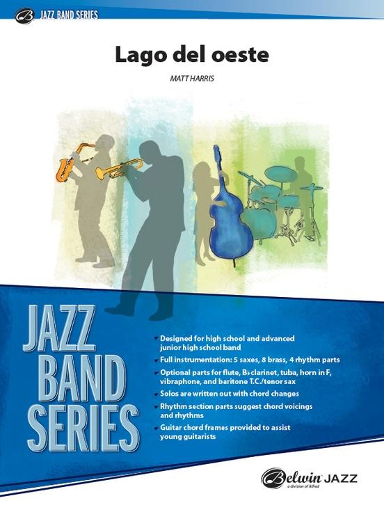 Lago del Oeste (Jazz Ensemble - Score and Parts)