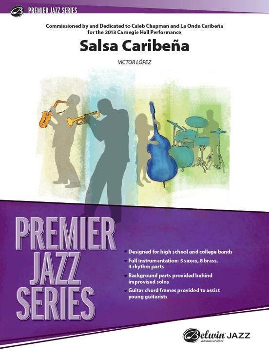 Salsa Caribena (Jazz Ensemble - Score and Parts)