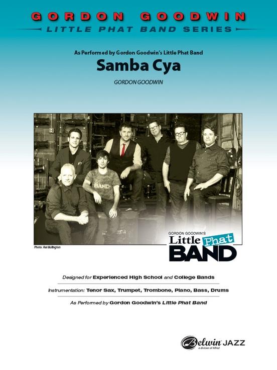 Samba Cya (Jazz Combo - Score and Parts)