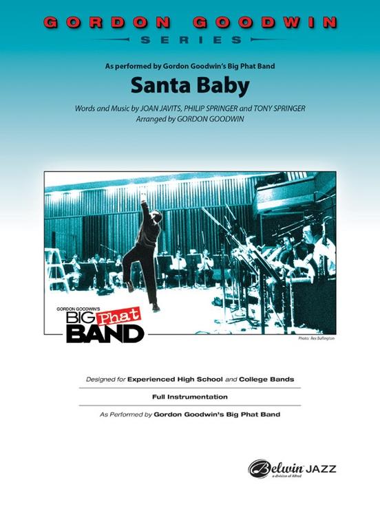 Santa Baby (Jazz Ensemble - Score and Parts)