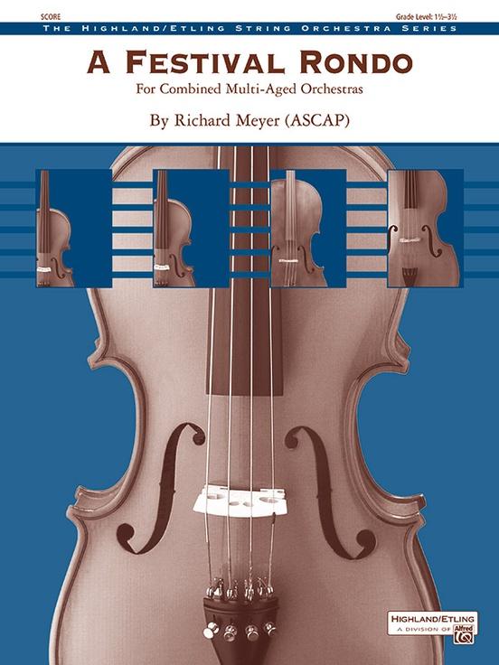 A Festival Rondo (String Orchestra - Score and Parts)