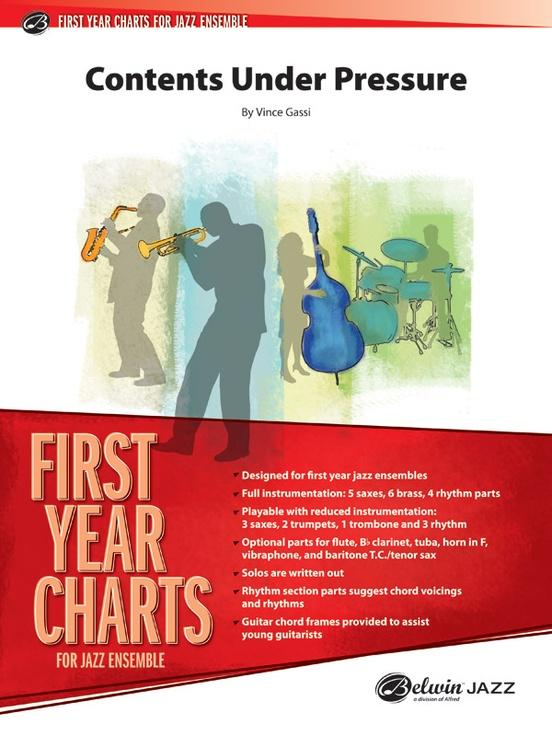 Contents Under Pressure (Jazz Ensemble - Score and Parts)