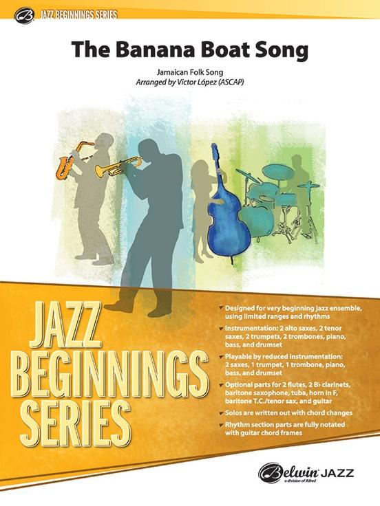 The Banana Boat Song (Jazz Ensemble - Score and Parts)