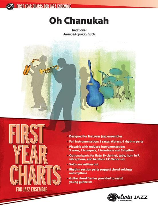 Oh Chanukah (Jazz Ensemble - Score and Parts)