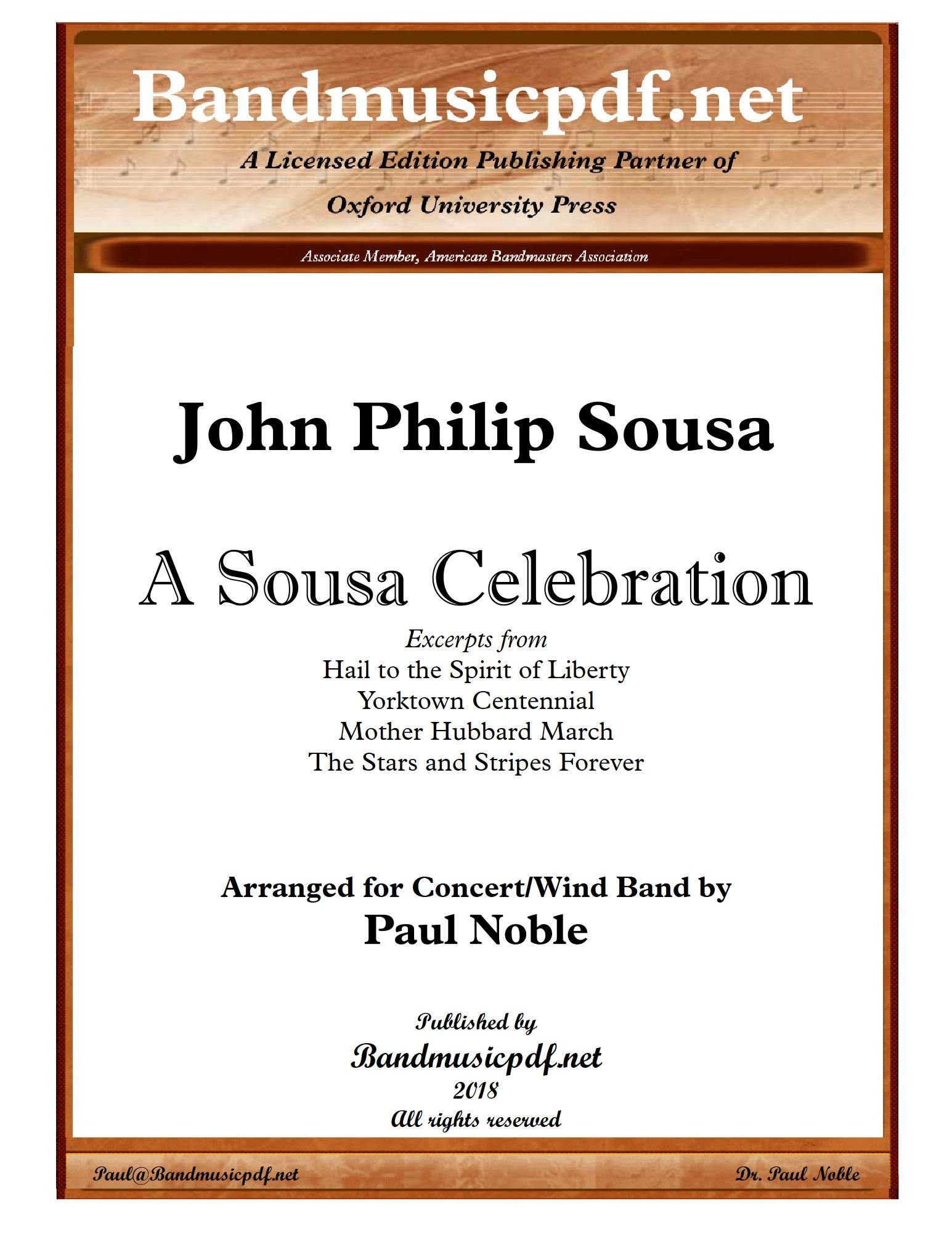 A Sousa Celebration (Concert Band - Score and Parts)