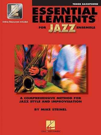 Essential Elements for Jazz Ensemble - Book 1 (Tenor Saxophone)