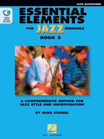 Essential Elements for Jazz Ensemble - Book 2 (Alto Saxophone)